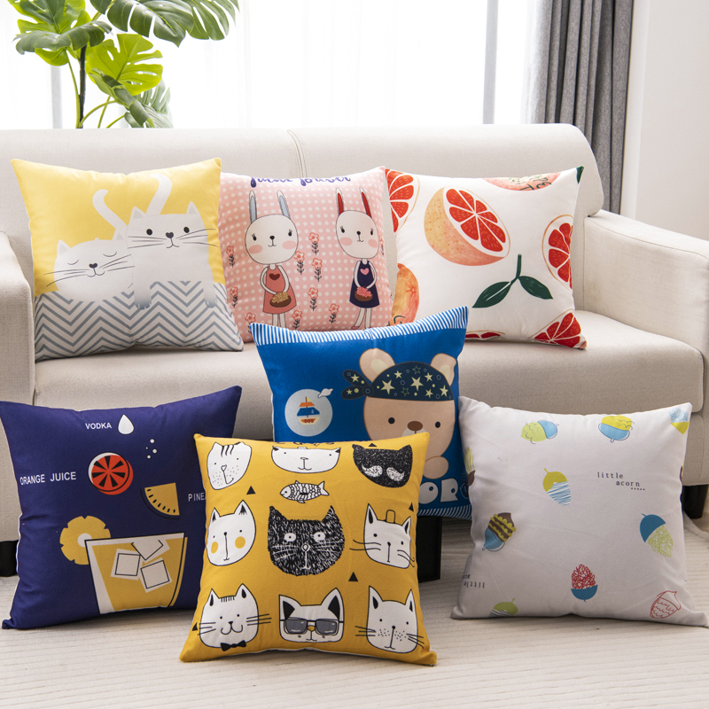 China supplier custom printed home decor bedding pillow case with your design