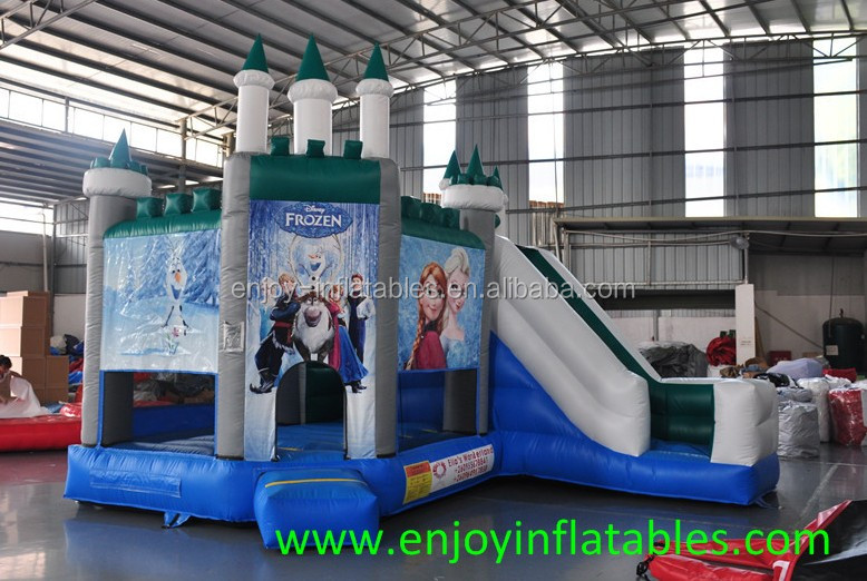 kids indoor Jump and Slide Thomas the Train Combo Inflatable, Thomas the Tank Engine Jumping Castle, inflatable train jump