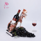 Frog Wine Rack Wall Bottle Holder