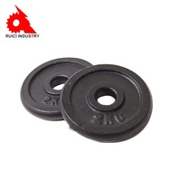 OEM sand cast iron round Precision weight plates
