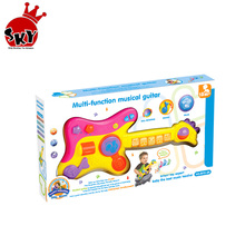 Multi-funktion <span class=keywords><strong>kinder</strong></span> <span class=keywords><strong>elektrische</strong></span> <span class=keywords><strong>gitarre</strong></span> kunststoff lernen spielzeug baby phantasie spielzeug musical instruments set
