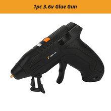 Клеевой пистолет 3,6 В с литий-ионным термоклеем, 10 шт., 7 мм(Китай)