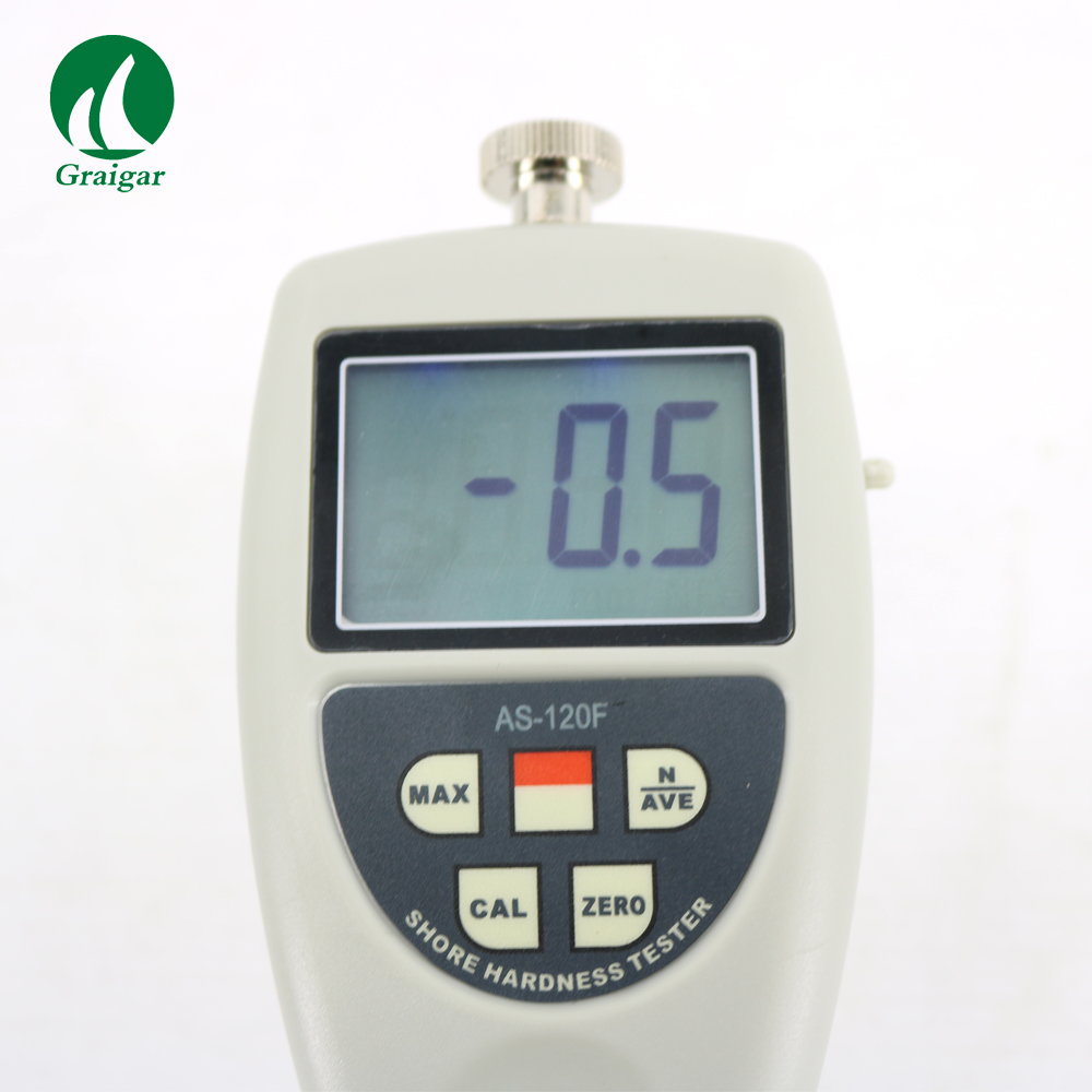 AS-120F Durometer Sponge Hardness Tester Polyurethane Foam Rubber Hardness Meter Range: 0~100H