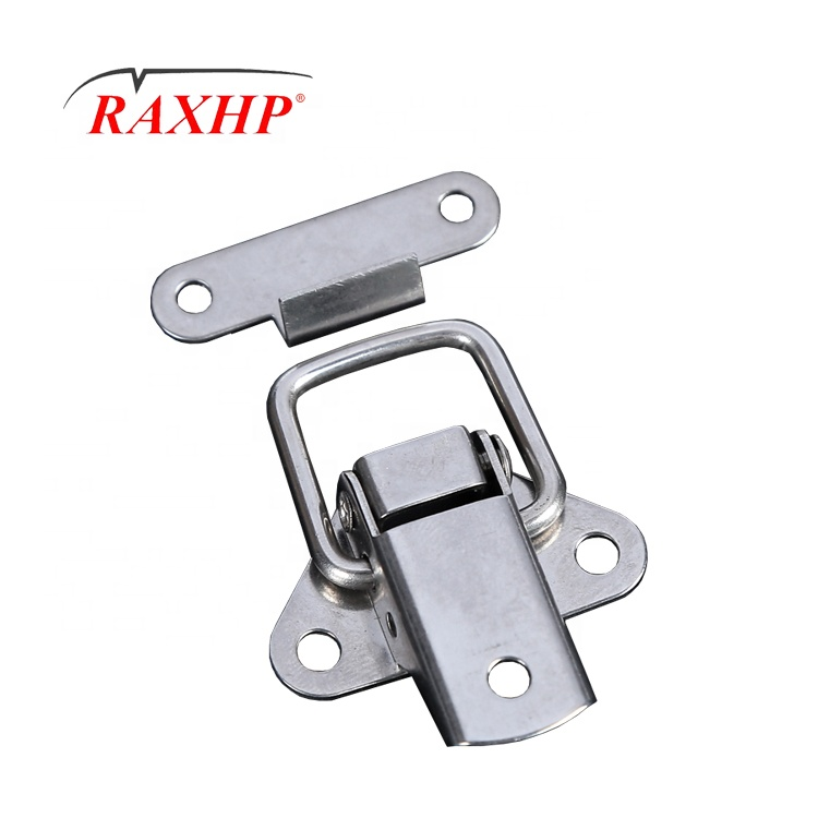SUS Electric Cabinet Stainless Steel Adjustable Draw Latch Hardware tool box drawer door window paddle slam butterfly latch