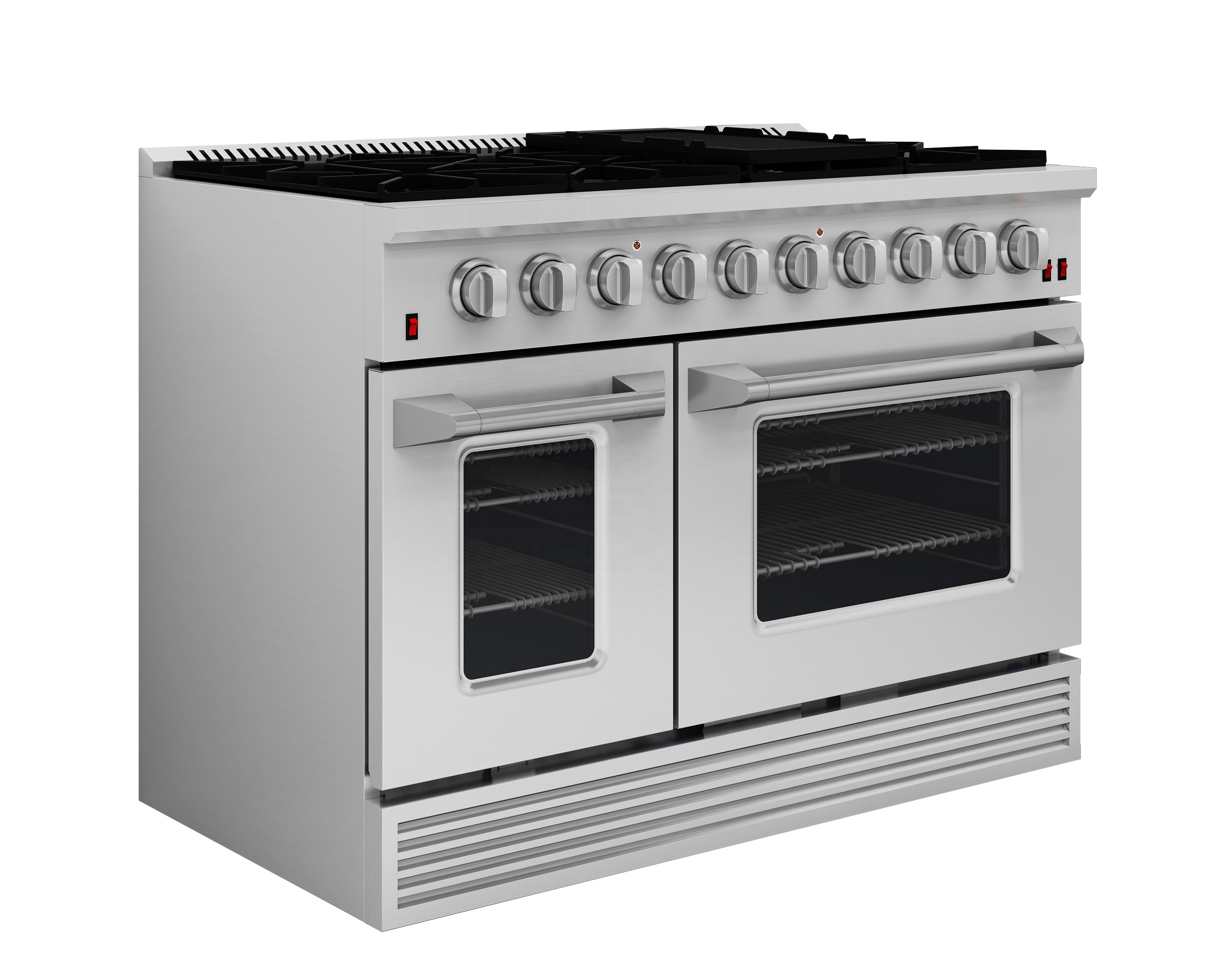 SENG 48 inch range CSA professional gas stove with griddle