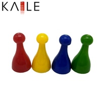 Custom Color Plastic Game Pawn Wholesale