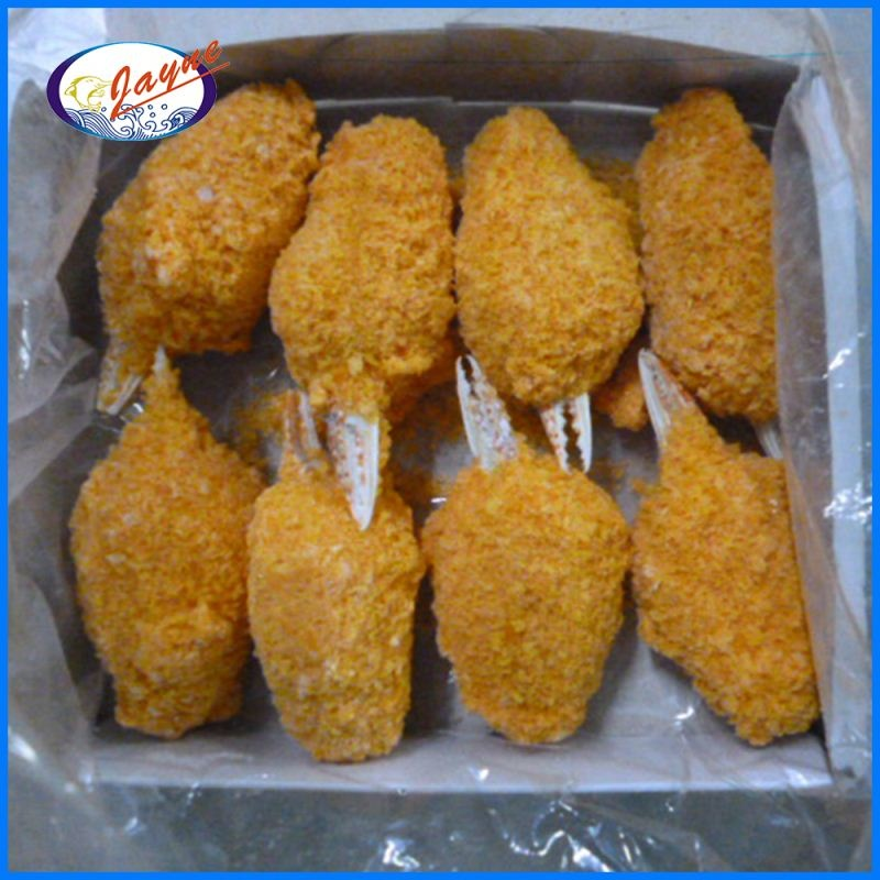 Tasty frozen breaded crab claw with 5 Kg or 10 Kg for sale