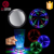 LED Tunnel Drink Coaster Round Shaped Plastic LED Coasters