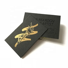 (High) 저 (end custom black business card printing/금 호 일 business cards