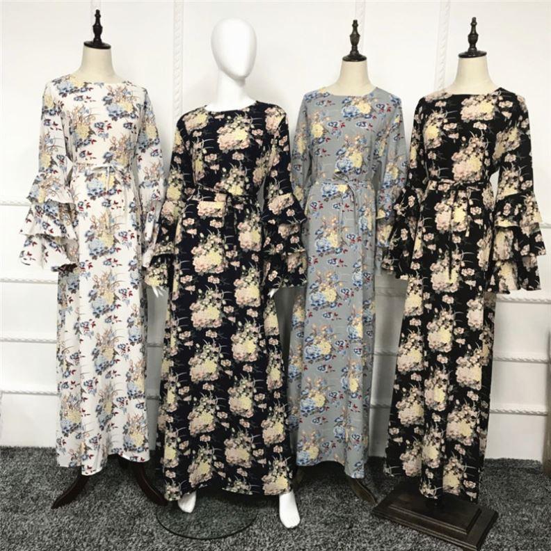 Yüksek kalite 2020 yeni tasarım düz düz renk moda abaya ceket tasarım müslüman giyim kadın moda günlük abaya jilbab