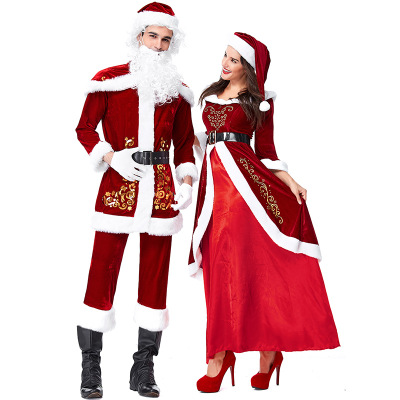 Newest Women party cosplay outfit fancy dress set santa claus christmas costume