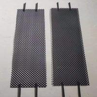 Ru/Ir MMO titanium mesh anode used for the Chlor alkali with terminal