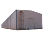 Low cost prefabricated commercial metal building affordable industrial sheds
