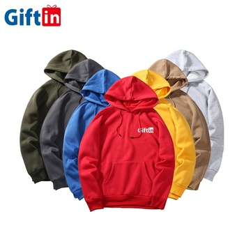High Quality 100% Cotton Pullover Warm Wholesale Men Custom Printing Embroidery Hoodies