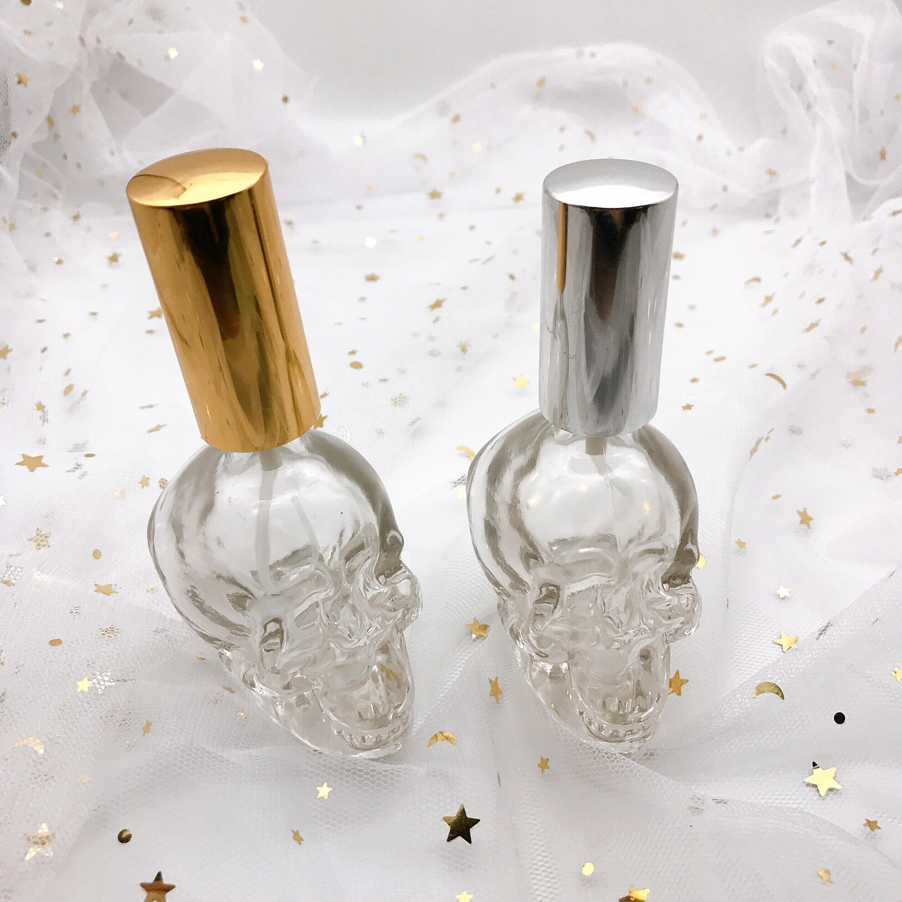 Haute Qualité 10ml Bouteille En Verre De Parfum Clair Vaporisateur Bouteille Carrée En Verre Atomiseur