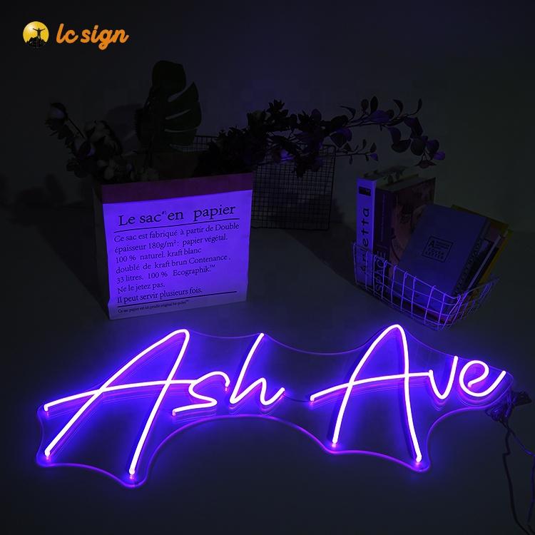 wholesale led neon flex neon light words
