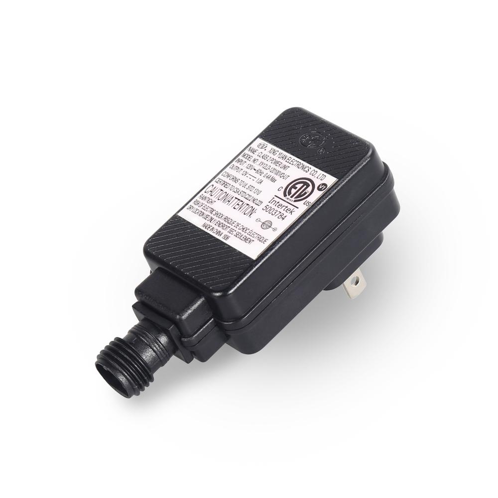 USA 1310 standard outdoor ac adapter 12Volt 1amp power supply for CCTV Camera LED Strip fan motor