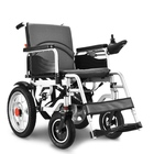 2020 hot new product foldable lightweight small electric wheelchair with 250W brushless motor and lithium battery wheelchair