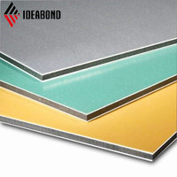4x0.25mm normal color unbroken PVDF aluminum composite panels sheets