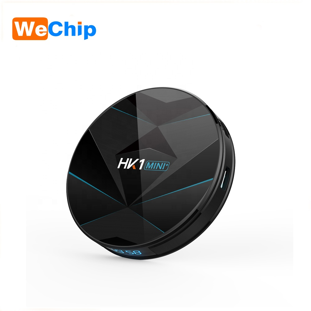 HK1MINI + RK3318 Quad Core DDR3 4GB Android 9.0 4K Dual wifi Android tv box HK1 mini +