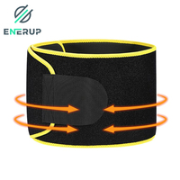 Enerup Back Support Brace Body Faja Cintura Slimming Running Belt Private Label Waist Pack Shaper Trainer Trimmer