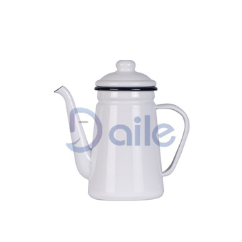 1.1L Round Handle Enamel Coffee Pot /Enamel Teapot /Enamel kettle