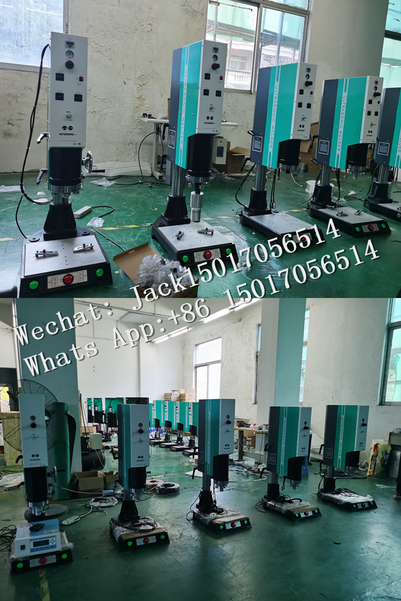 Factory Price KN95 Face Mask Edge Ultrasonic Welding Machine For Non-woven