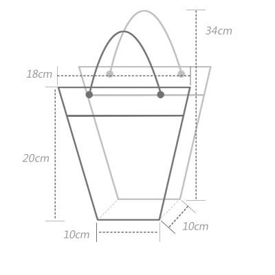 在庫longsun透明pp花バッグプラスチック植物袋