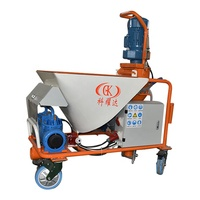 Plaster spraying machine mortar plaster spraying machine cement