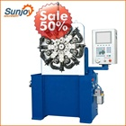 Coil spring Torsion spring coiling machine rolling machine manufacturer spring machine with ISO from Sunjoy
