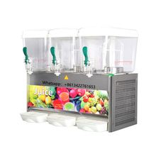 Voedsel drank service apparatuur commerciële prijzen 3-tank koude juicer drank hotel buffet <span class=keywords><strong>catering</strong></span> drinken sap <span class=keywords><strong>dispenser</strong></span>