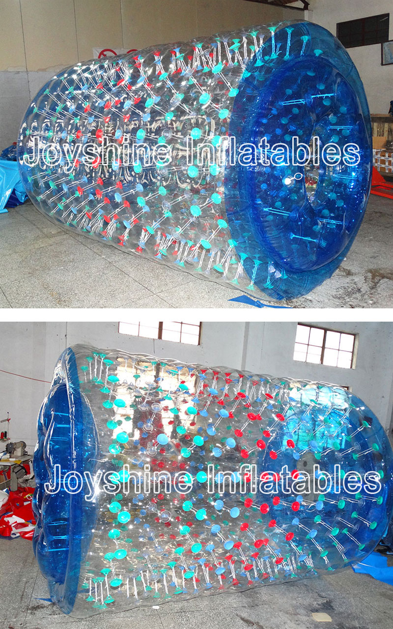 Inflatable Water Wheel Roller Balls Human Hamster Aqua Walking Bubble Roller, Water Run Ball