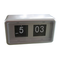 Brief Flip Clock with Clear Time Display