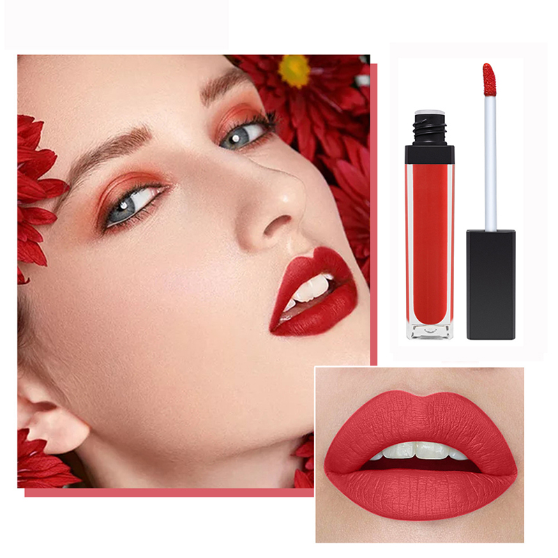 Make Your Own Brand Matte velvety Lip Gloss High Quality Private Label Long Lasting nude matte liquid lipstick waterproof