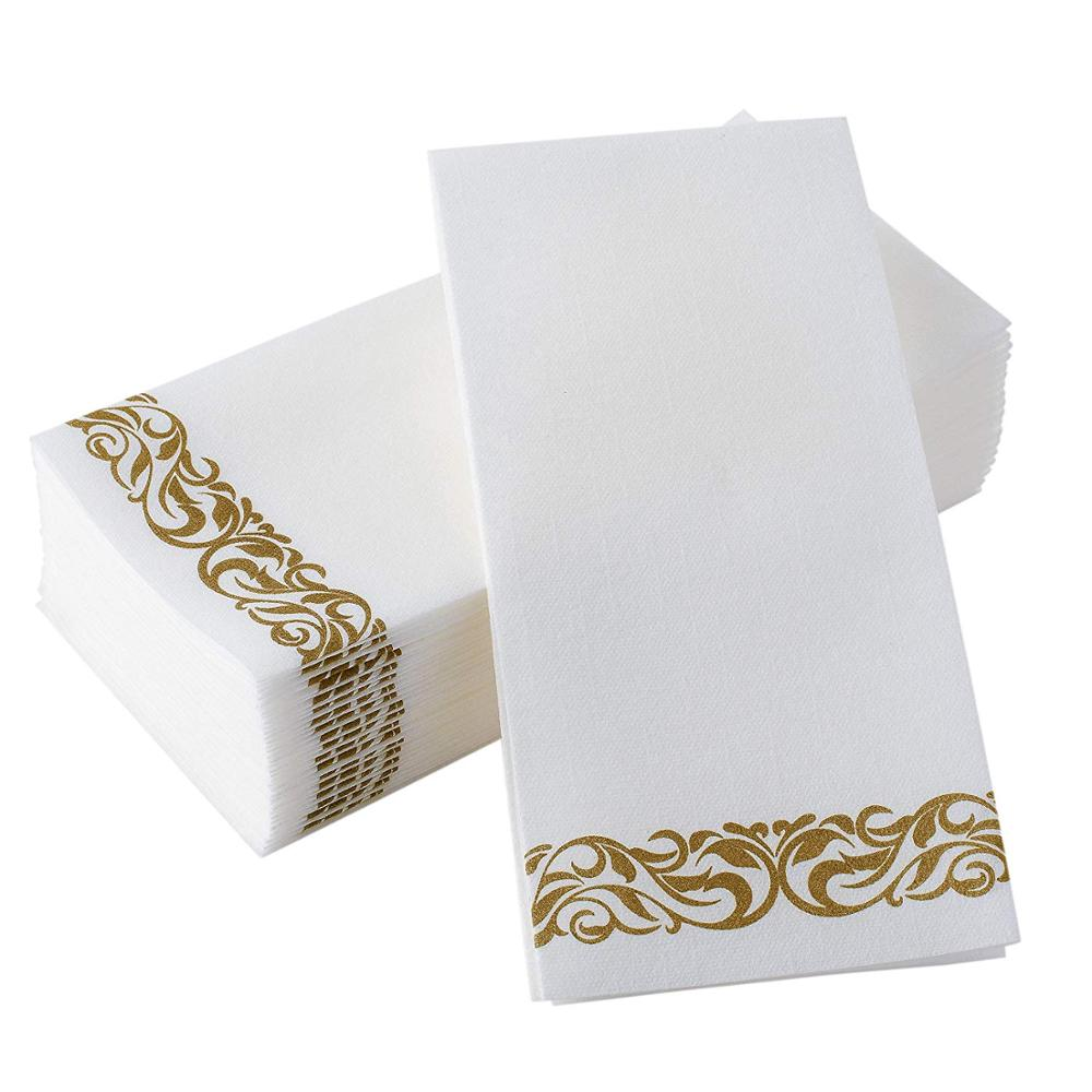 Perfecct Settings  disposable cloth-like  Airlaid dinner napkin guest towel