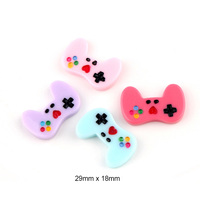 new mini colorful keyboard game pad design flat resin crafts mold