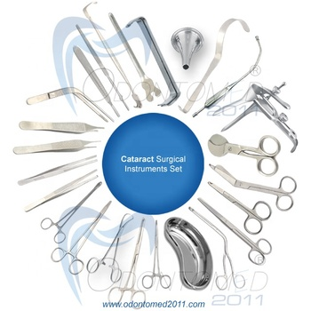 Cataract Surgical Instrument Set Odontomed.