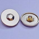 Accessories Button Button Wholesale Clothing Accessories Ring Metal Button Fancy Sewing Alloy Metal Carve Button