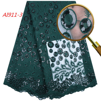 1735 Free Shipping African French Lace Fabric Lime Green Lace Fabric Sequin Lace Fabric