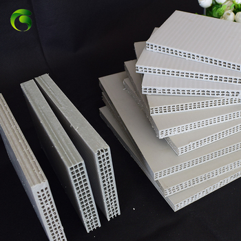 Marc Green Brand 15x1220x2240mm PP hollow corrugated for concrete shuttering