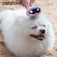 Pet open knot comb H0TFB easy to clean pet grooming brush