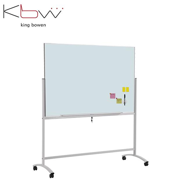 BW-E7/G Mobile glass board with lock and 360-degree flip - Yola WhiteBoard | szyola.net