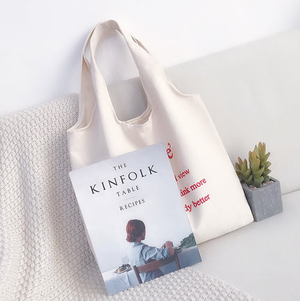 Wholesale custom black cotton canvas tote bag eco friendly recycled foldable shopping tote bag with logo for women