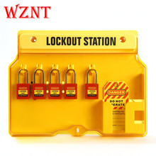 NT-LG01 Lock Out: Keluar Loto <span class=keywords><strong>Standar</strong></span> OSHA Safety Padlock Station Kit