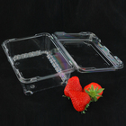 Salad Plastic Fruit Tray Fruits Plastic Fruit Container Factory Outlet Plastic Disposable Fruit Tray Plastic Container For Fruits And Vegetables Disposable Plastic Salad Container