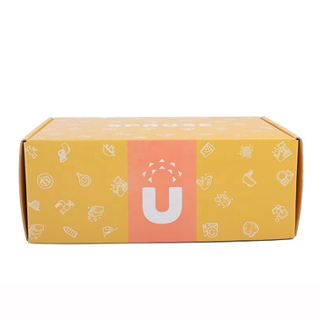High quality luxury colourful Custom printed gift packaging mailing box for display