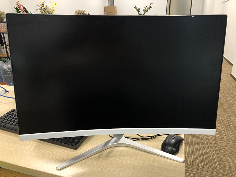 OEM Monitor PC Melengkung Layar 24 Inci LCD Monitor Full HD 1080P LED Gaming Monitor