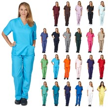 Di modo del commercio all'ingrosso mediale scrubs <span class=keywords><strong>ospedale</strong></span> personale <span class=keywords><strong>uniforme</strong></span> uniformi infermieristiche scrubs