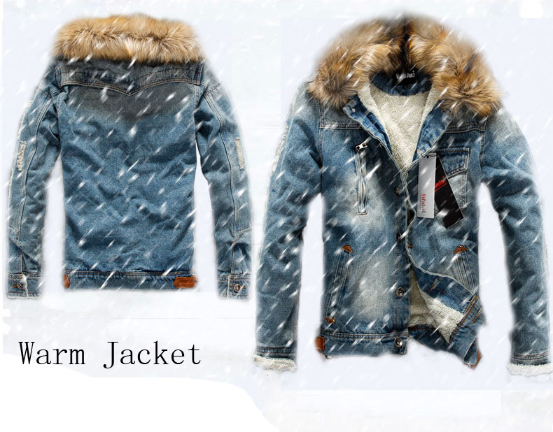 S-4XL 도매 자켓 청바지 남성 데님 자켓 겨울 한국 재킷