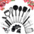 Heat Resitan Cooking Utensils Set - 23 Piece Kitchen Utensil Set Nylon